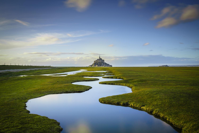 Замок Мон-Сен-Мишель, Франция