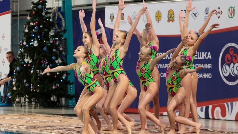 Международный турнир по синхронному плаванию «Русская матрешка» завершился в Чехове