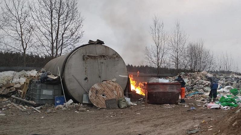 Минэкологии расследует обстоятельства появления незаконной свалки в Одинцовском округе