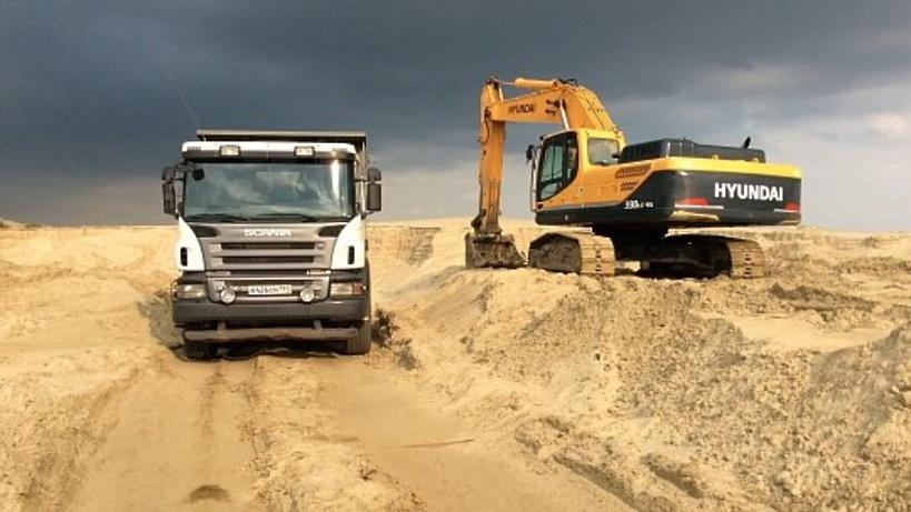 Московскую компанию подозревают в незаконной добыче песка в Мытищах