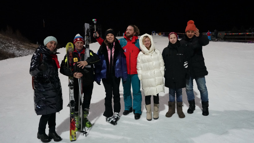 Наталья Виртуозова посетила праздник «Спорт! Снег! Смех!» в Дмитровском городском округе