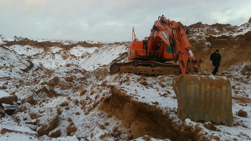 Незаконную добычу полезных ископаемых пресекли в Электростали