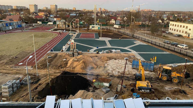 Новая школа на 825 мест откроется в Подольске в 2020 году