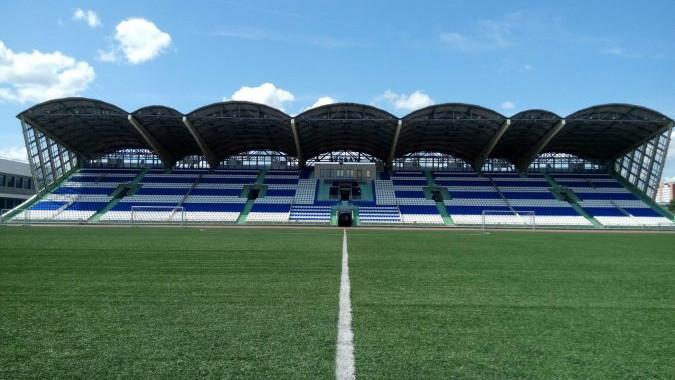 Новое футбольное поле откроют на стадионе «Авангард» 21 декабря