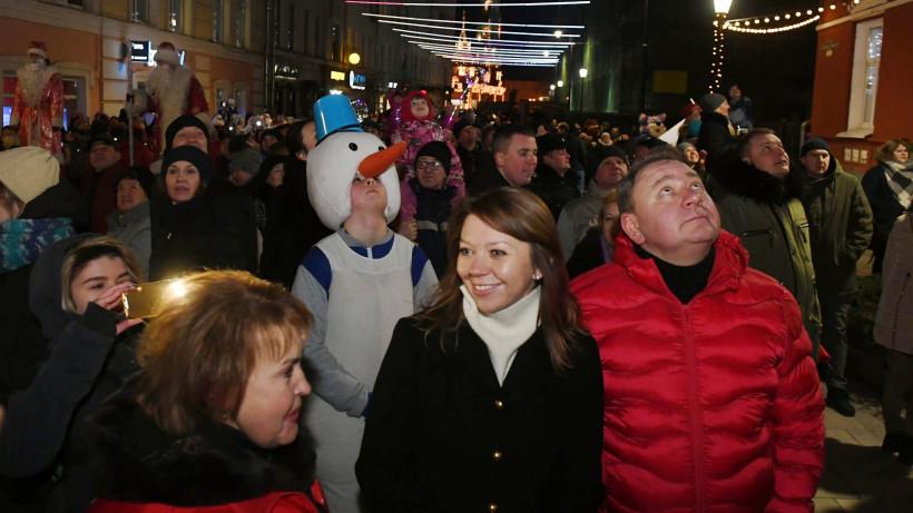 Новогодний семейный фестиваль «Трикотажка Fest» прошел в Сергиевом Посаде