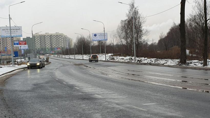 Основные работы по реконструкции Зенинского шоссе и моста через реку Пехорку завершены