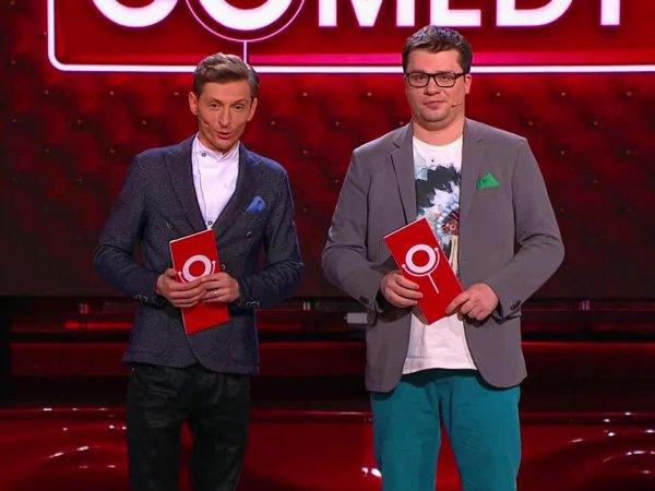 """От него шишка растет"": Джиган опозорил Харламова и его ""пупсика"" в Comedy Club"