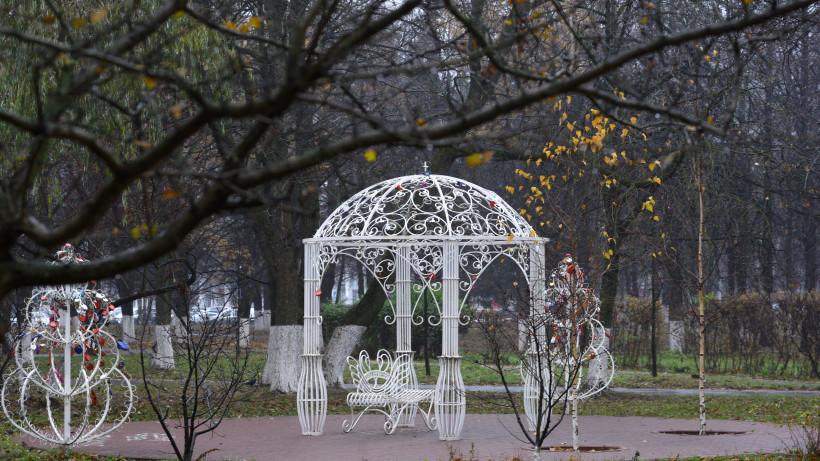 Парк Победы благоустроили в Орехово-Зуеве