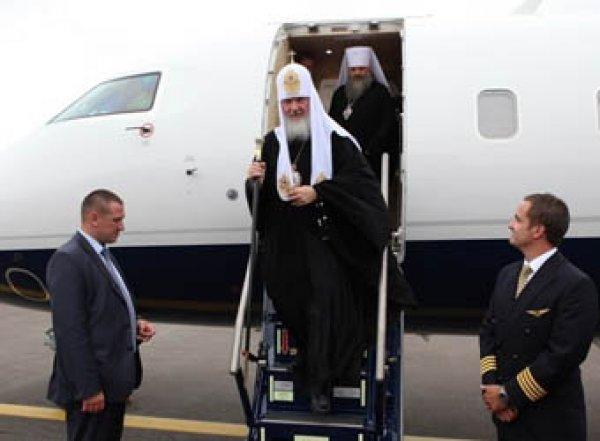 Патриарха Кирилла уличили в полете на бизнес-джете, связанном с расследованиями ФБК