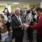 Павел Колобков посетил спортивные учреждения Чурапчи Республики Саха (Якутия)