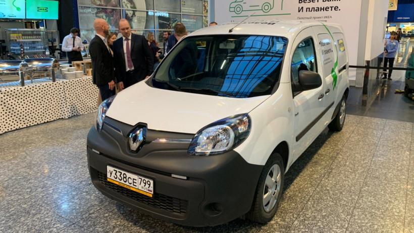 Первые электромобили для доставки товаров на дом появятся в Подмосковье