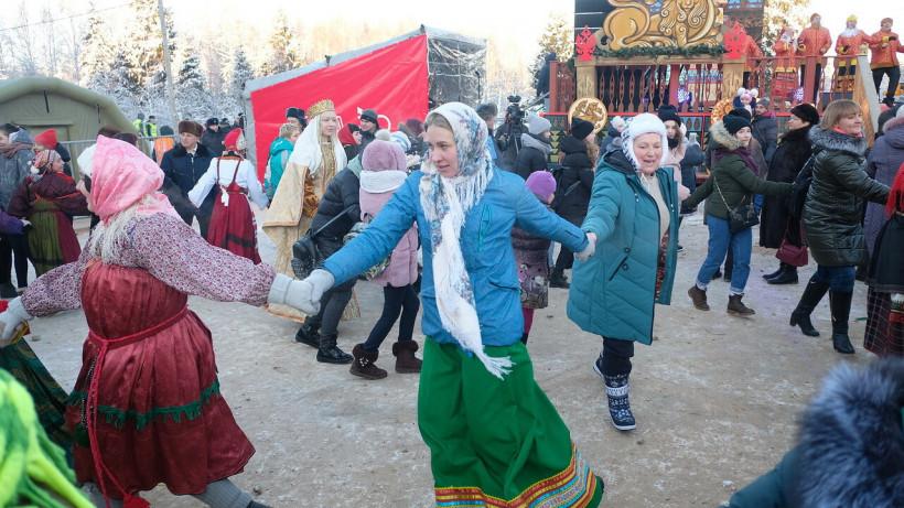 Почти 1,5 млн человек могут принять участие в новогодних гуляньях в Подмосковье