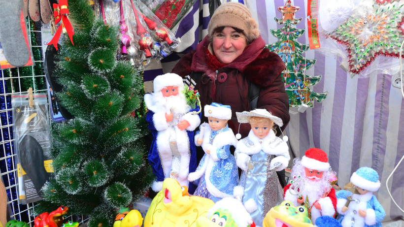 Почти 13 тыс. торговых мест организуют на новогодних ярмарках в Московской области