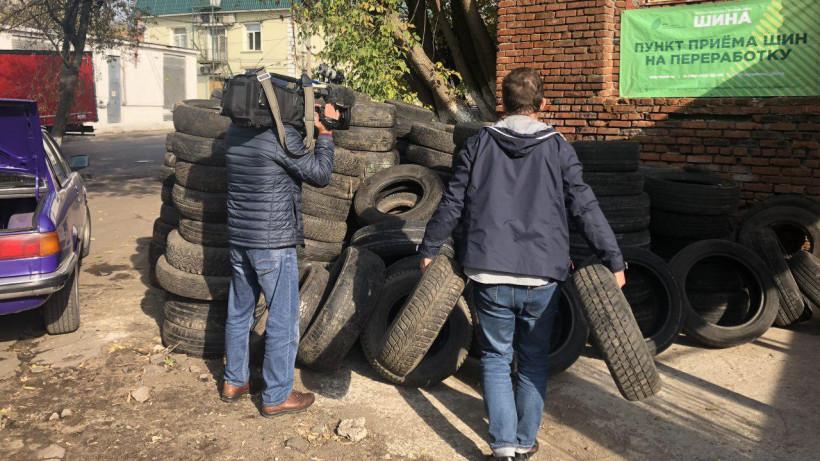 Почти 8 тыс. тонн старых покрышек собрали в регионе в рамках акции «Шина» с начала года