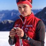 Подмосковная спортсменка Кристина Кускова завоевала серебряную медаль на Всероссийских соревнованиях по лыжным гонкам