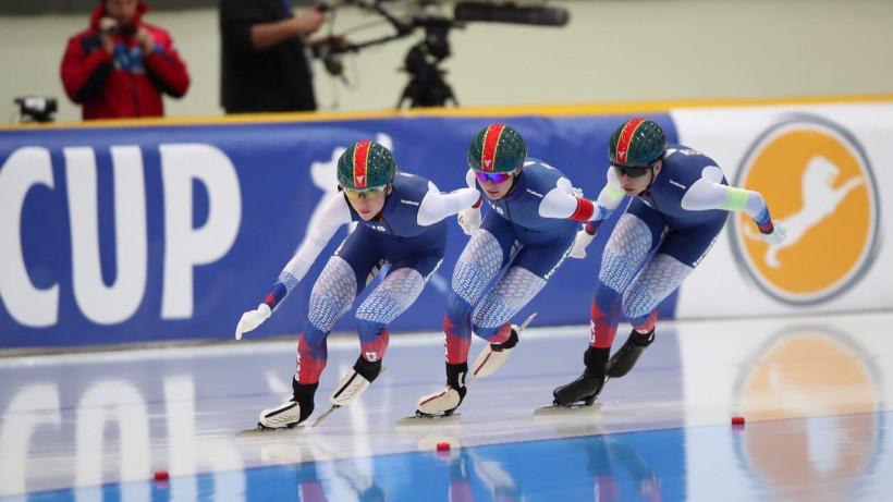 Подмосковные конькобежцы завоевали четыре бронзовые медали