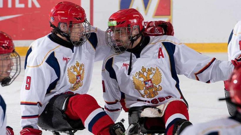 Подмосковные спортсмены в составе сборной России взяли бронзу Кубка Канады по следж-хоккею
