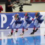 Подмосковные спортсмены в составе сборной России завоевали четыре бронзовые медали на III этапе Кубка мира по конькобежному спорту