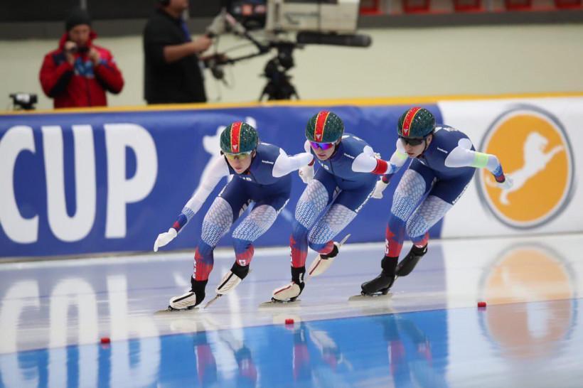Подмосковные спортсмены в составе сборной России завоевали четыре бронзовые медали на III этапе Кубк...