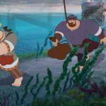 Показ мультфильма «Три богатыря и Морской царь»
