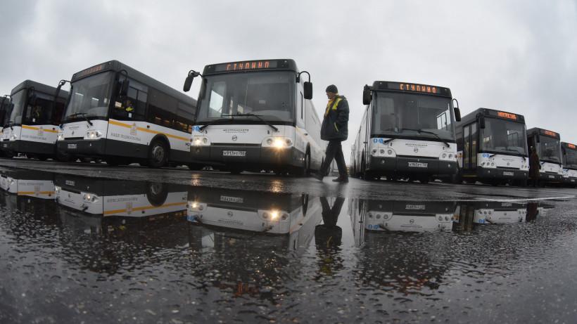 Порядка 850 новых автобусов вышли на маршруты Подмосковья в этом году