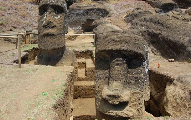 Раскрыта тайна каменных идолов острова Пасхи