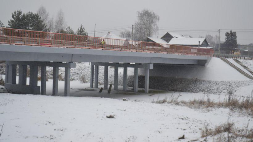 Ремонт моста через реку Каширку завершили в Ступине