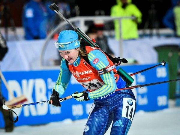 Россиянки выступят в гонке преследования в рамках Кубка мира по биатлону