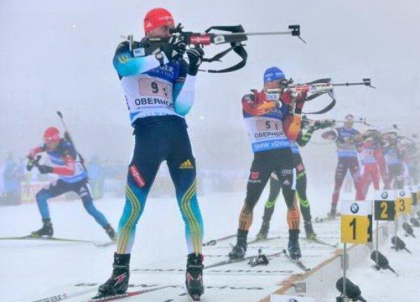 Российские биатлонисты выступят в эстафете на этапе КМ в Хохфильцене