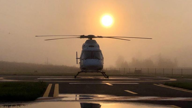 Санитарная авиация Подмосковья эвакуировала почти 300 пациентов с начала года