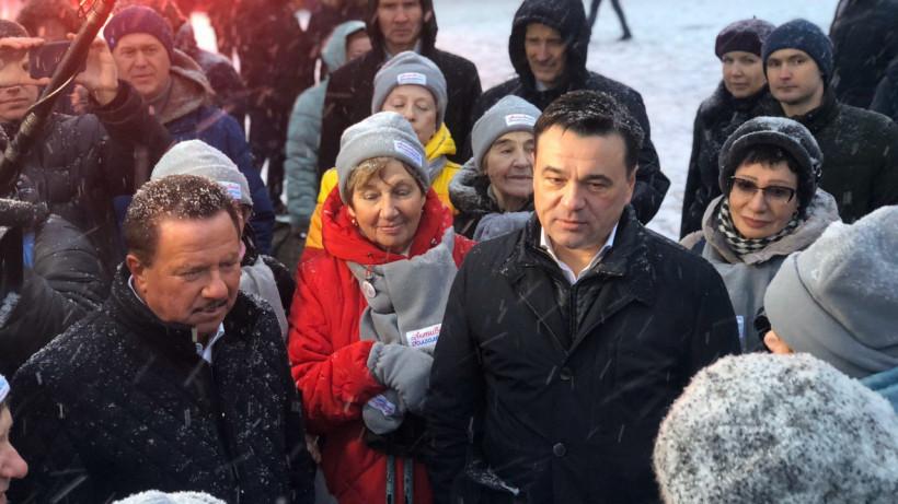 Сюжет по итогам рабочего визита Андрея Воробьева в Королев вышел в эфире канала «Россия-1»