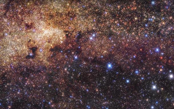 Создано сверхточное фото центра Млечного Пути