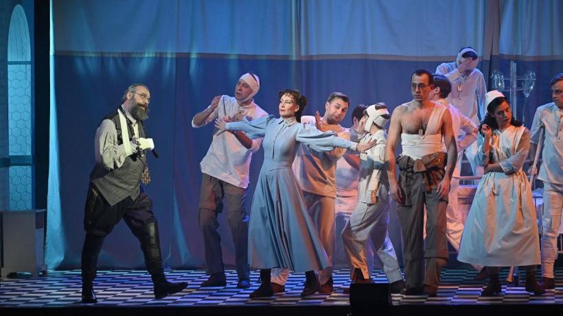 Спектакль «Питер Пэн» впервые представлен на сцене Московского областного ТЮЗа
