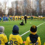 Стадион «Машиностроитель» открылся в Красногорске