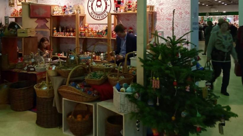 Стенд Подмосковья стал лучшим на выставке народных художественных промыслов