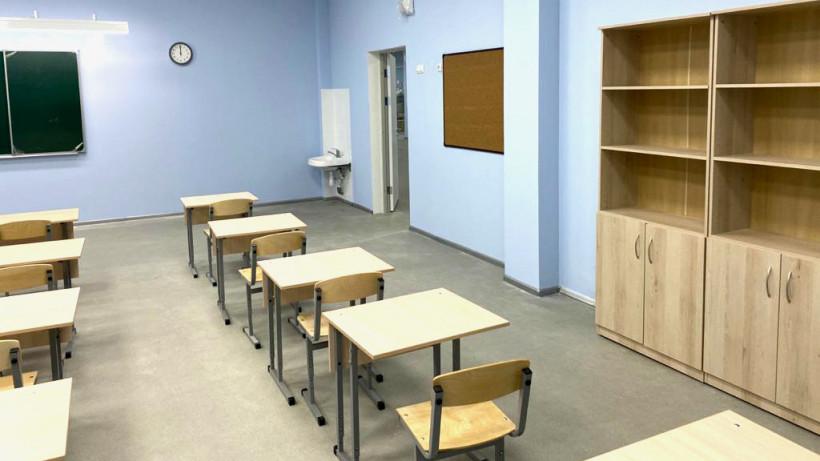 Строительство школы на 1350 мест в Одинцове завершат до конца года