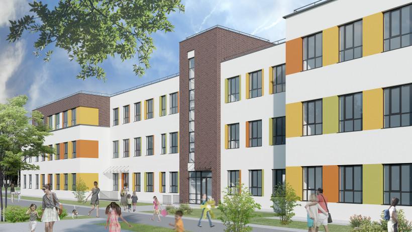 Строительство школы на 350 мест стартовало в городском округе Подольск