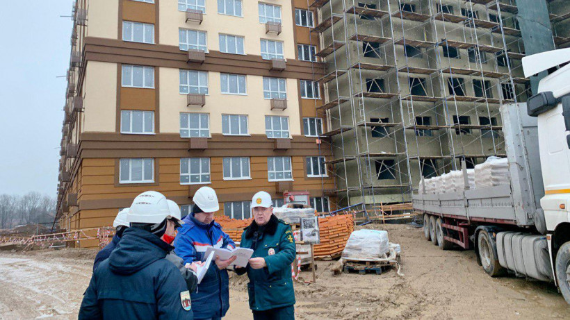 Строительство жилого дома в Ленинском округе завершат во 2-м квартале 2020 года
