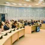 Тимофей Мозгов, Глеб Гальперин и Вадим Бабешкин приняли участие в панельной дискуссии форума «Живу Спортом»