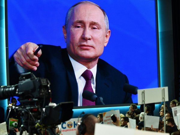 """Уел"": Путин ответил про дело Голунова, отстранение РФ от Олимпиады и украинские танки на Кубани"