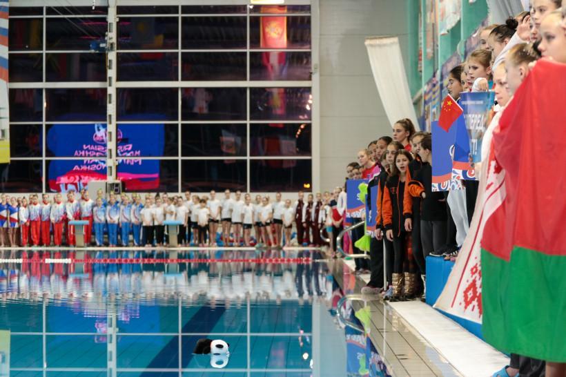 В Чехове завершился международный турнир по синхронному плаванию «Русская матрешка»