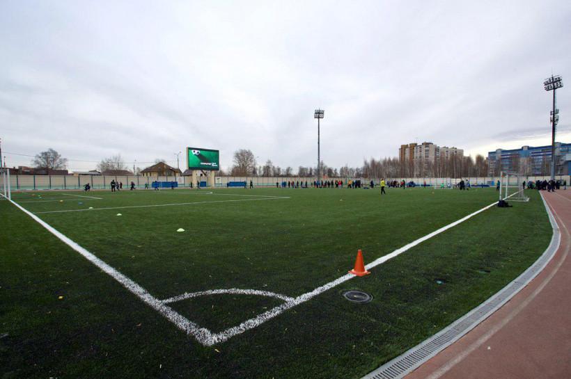В Домодедово появилось футбольное поле, соответствующее стандартам FIFA