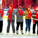 В Подольске прошла открытая тренировка по катанию на коньках по программе «Активное долголетие»