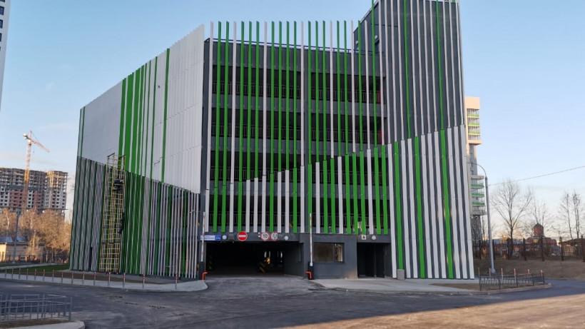 Жилой корпус с паркингом построили в ЖК «Отрадный» в Мытищах