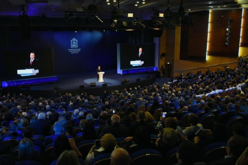 Андрей Воробьев рассказал о развитии регионального спорта в своем ежегодном обращении к жителям