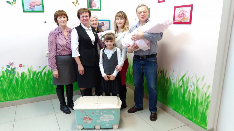 Более 1,3 тыс. детей родилось в Подмосковье в новогодние праздники