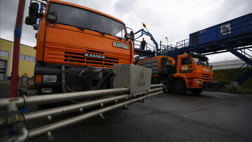 Более 14 тыс. км дорог обработали в Подмосковье за минувшие сутки