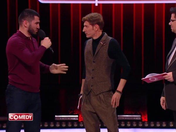 Чемпион по боксу заставил извиниться напуганных Харламова и Волю в Comedy Club