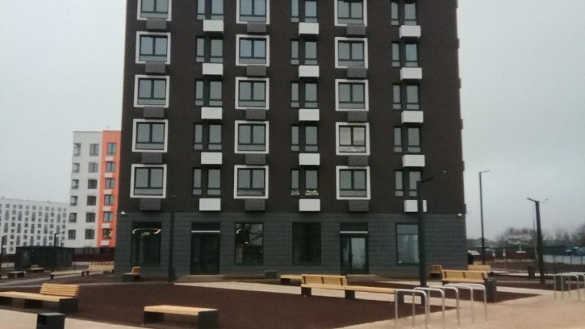 Дом в составе жилого комплекса «Ильинские луга» построили в Красногорске