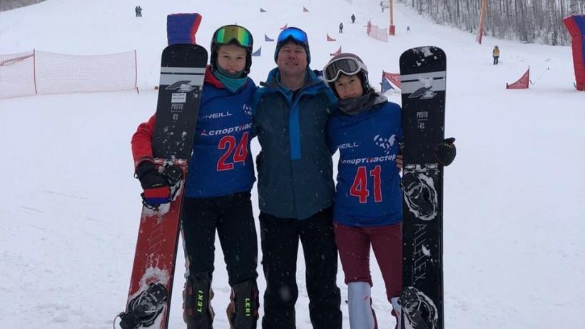 Две подмосковные спортсменки завоевали медали на VII этапе Кубка России по сноуборду